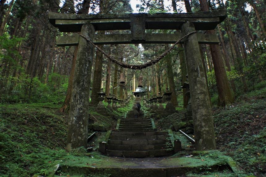 阿蘇郡高森町 上色見熊野座神社
